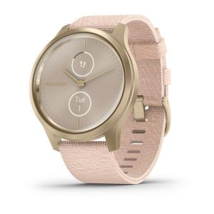 vivomove Style Blush Pink Nylon with Light Gold Hardware