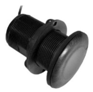 Xdcr,P19,8-pin,Tilted Plastic Thru-Hull,12º,200/77kHz