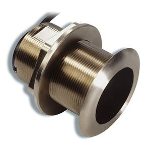 Xdcr,B60,8-pin,600W,Tilted Brnz Thru-Hull,20Deg,200/50kH