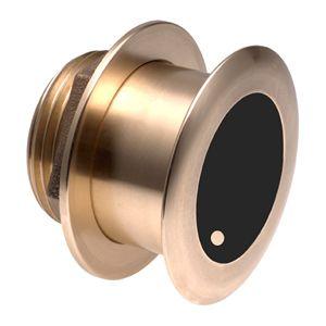 Xdcr,B175L,8-pin, CHIRP,1kW,Brnz Thru-hull, 20, HF