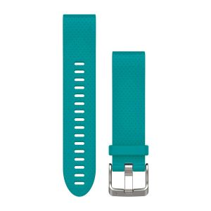 QuickFit 20mm Turquoise Silicone Band