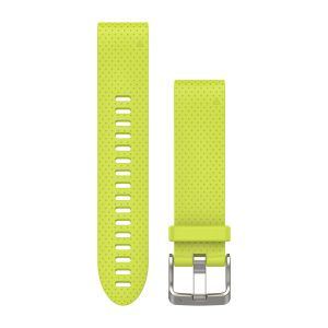 QuickFit 20mm Amp Yellow Silicone Band