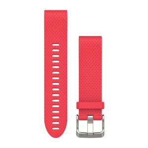 QuickFit 20mm Azalea Pink Silicone Band