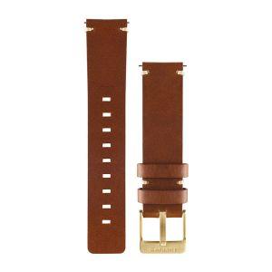 vívomove Light Brown Leather Watch band