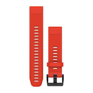 QuickFit 22mm Flame Red Silicone Band