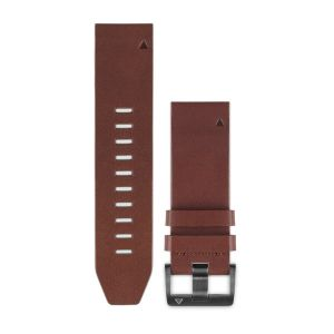 QuickFit 22mm Brown Leather Band
