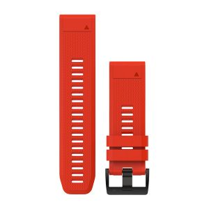 QuickFit 26mm Flame Red Silicone Band