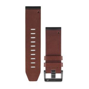 QuickFit 26mm Brown Leather Band