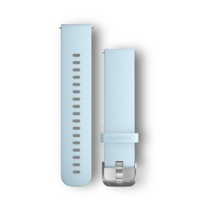 Quick Release Band, Azure Silicone, Stainless Buckle (Regular/Large)