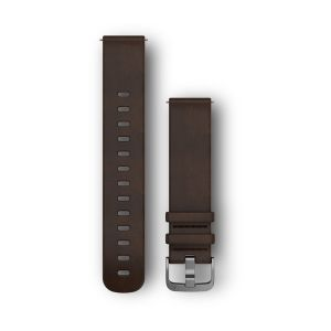 Quick Release Band, Dark Brown Leather Band - Large